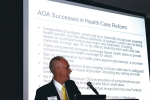 AOA Federal Relations Committee Chair Roger Jordan, O.D., discusses advocacy successes, including the pediatric vision care benefit, the Harkin Amendment, glasses and contact lens exemption from the medical device tax, meaningful use incentives and optometry's inclusion in ACOs.
