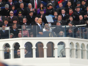 AOA Trustee Hilary Hawthorne of California traveled to Washington, D.C., for the Jan. 21 inauguration of President Barack Obama for his second term in office.