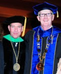From left, Dr. Mittleman and Dr. Lewis
